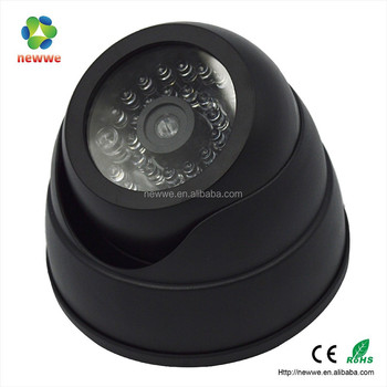 Battery Operated Security Camera >> 2aa Battery Operated Security Small Cheap Cctv Mini Dummy Camera