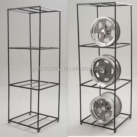 Alloy Wheel Rim Display Wheel Stand Rack