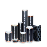Heating Film for floor heating with radiant heat