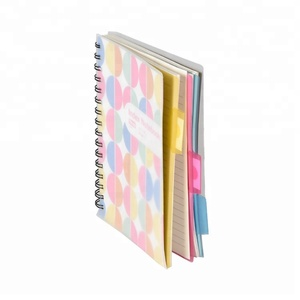 Factory Price Wholesale Pages Custom Printed Thick Spiral Notebook For Record