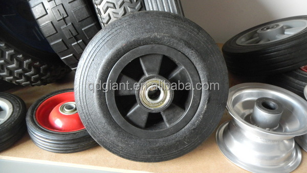 8inch solid rubber wheel for compressor