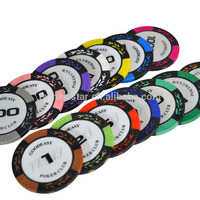 Factory Distributor Cheap 14 Colors Custom Wholesale Clay Chips Poker