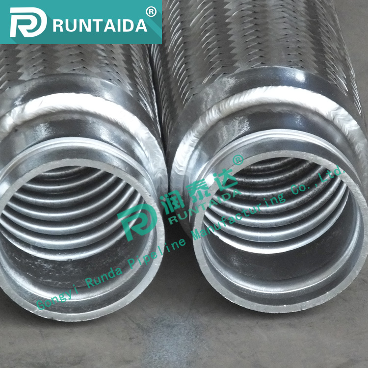 Stainless Steel Flexible Metal Hose Bellows FM Approved