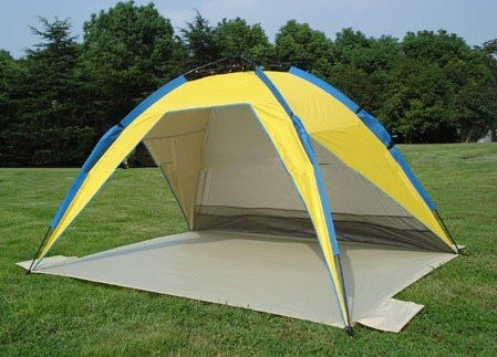 Portable Popup Sun Wind Shelter Tent Shade Camp Beach Picnic Park Backyard