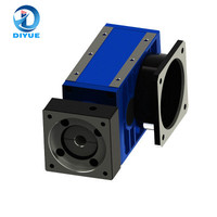 High precision high bearing capacity high speed ratio high quality DT120 servo motor planetary helical gearbox