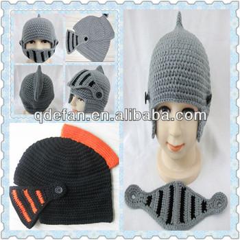 Jimo Efan Crochet Knight Helmet Hat Fro Kids And Adults Buy