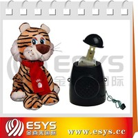 Customized cute plush toy head shoulder move simultaneously toy module