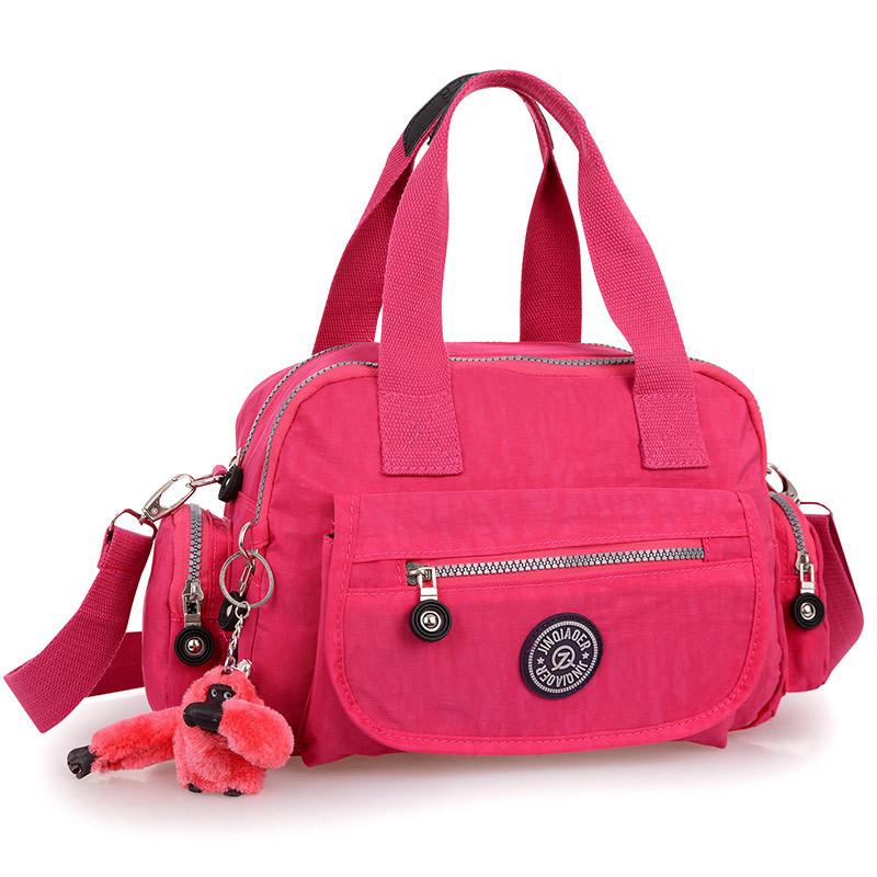 Get Quotations · Hot Fashion Nylon Bag Women Shoulder Messenger Bags  Waterproof Travel Purses And Handbag Female Bolsa Crossbody df4fdd5d3844a