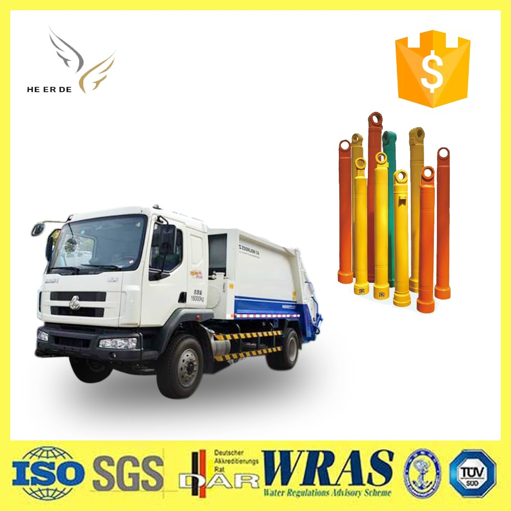5 Stages Front End Loader Telescopic Long Stroke Hydraulic Cylinder