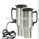 trade assurance covered stainless steel heating coffee cup with usb charger