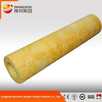 Glass Wool Blanket/glasswool Thermal Insulation For Steam Pipe Insulation