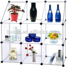 Sell newest DIY plastic storage shelves