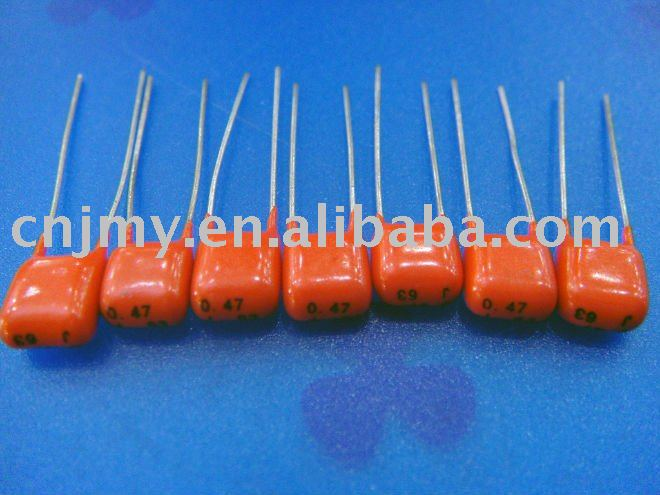 CL21X Micro Metalized Polyester Capacitor for 50/ 63/ 100VDC