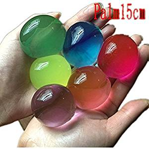 25pcs Mixing Color Water Beads Pearl Shaped Jelly Gels Soft Crystal Soil Paintbal Air Pisol Gun Ball Magic Ball Small Bolus Water Ball Toys For Children Kids
