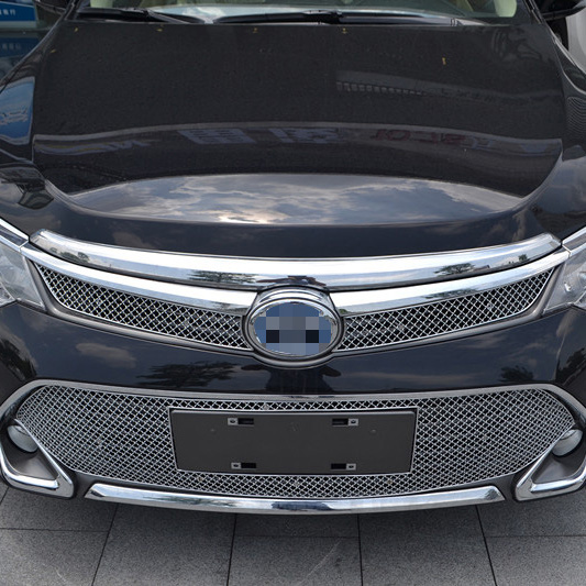 Toyota Camry Accessories >> Stainless Steel Car Front Grille Trims Grille Insect For Toyota