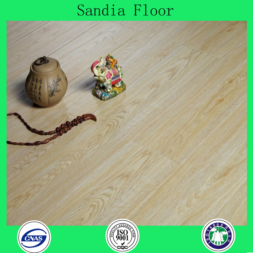 AC4 waxed water proof HDF 12mm laminate flooring / Eternity Hardwood Laminate Wood Flooring For Wooden House