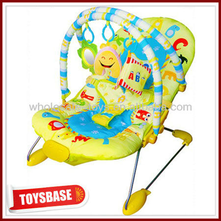 Folding baby bouncer