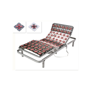 high end adjustable electric bed frame with wired remote control dj pw35 - Electric Bed Frame