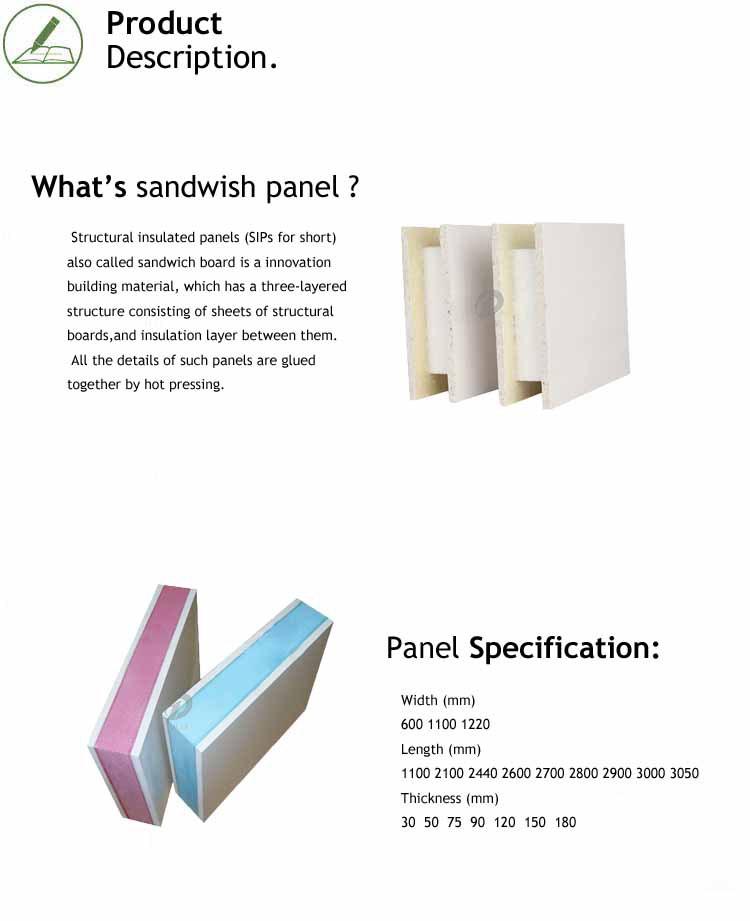 Высокое качество сэндвич цена панели Оптовая продажа, изготовление, производство
