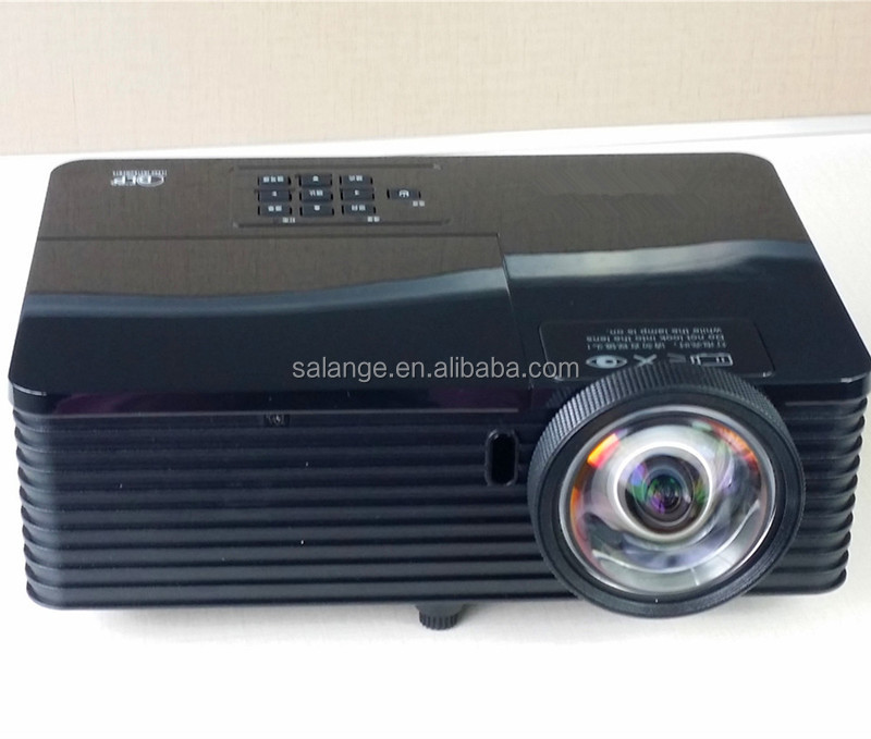 4000 ANSI lumens education data show 3D full hd dlp projector 8000:1 contrast home theater multimedia projector