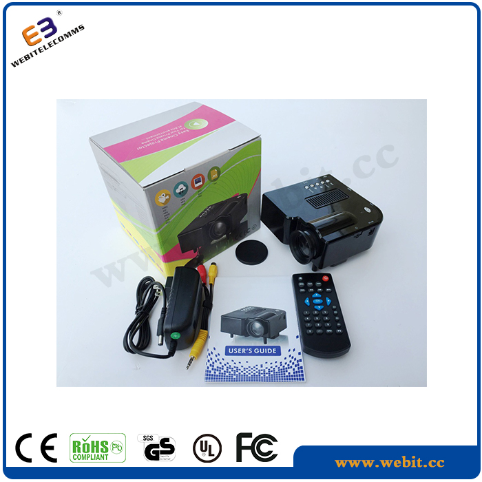 Portable Children's toys portable Projector,mini led Micro projector exceed 3d projector
