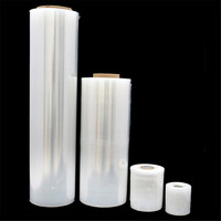 China ldpe plastic scrap clear stretch film