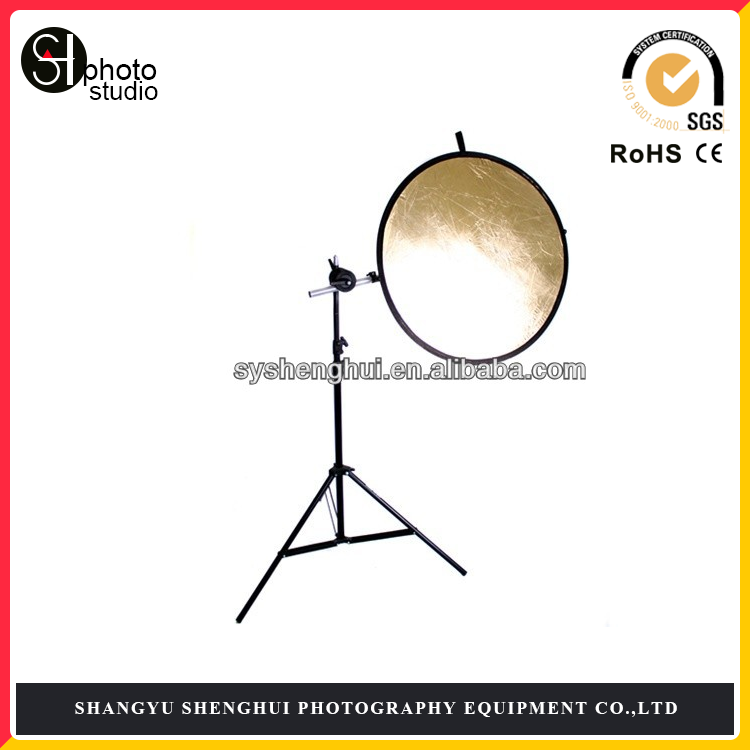 Professional photography 32 inch 5in1 Round Reflector with Light Stand