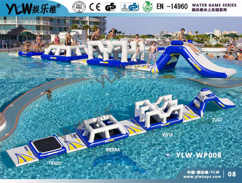 0.9mm PVC tarpolin PLATO water parks,customized made