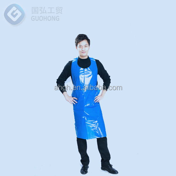 Disposable Medical Plastic Nursing Apron