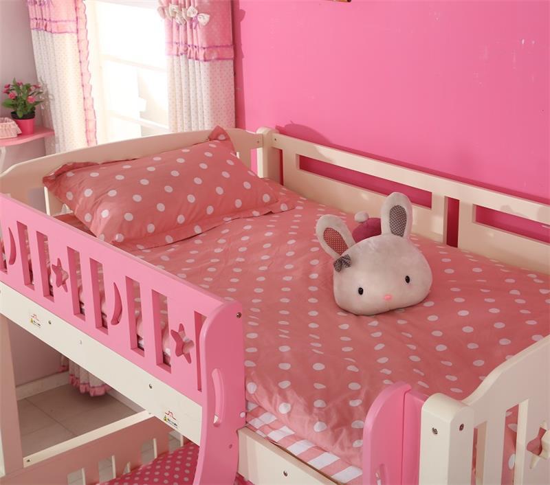 Grande cómodo niños de madera maciza barato camas tamaño queen cama ...