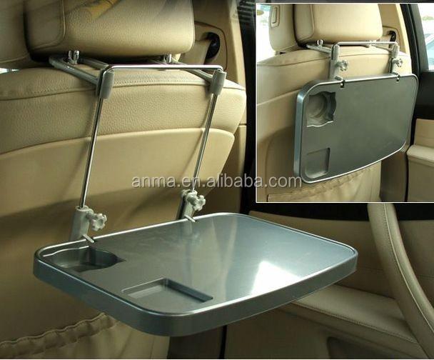 Vente chaude de voiture plateau de voiture oreiller portable plateau