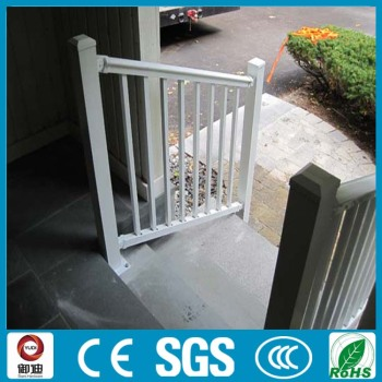 Factory Supply White Painted Aluminum Railings For Outdoor Stairs