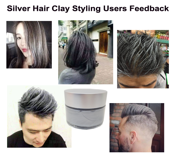 Iso 9001 Certification 2018 Trending Beauty Products Grey Pomade Wax ...