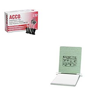 KITACC54115ACC72020 - Value Kit - Acco Pressboard Hanging Data Binder (ACC54115) and Acco Small Binder Clips (ACC72020)