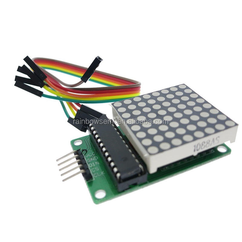 Active Components Max7219 Led Dot Matrix 8 Digit Digital Tube Display Control Module 3.3v 5v Microcontroller Serial Driver 7-segment Wide Varieties Electronic Components & Supplies