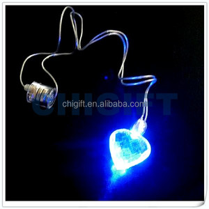 Wholesale Party Lights LED Flash Necklace