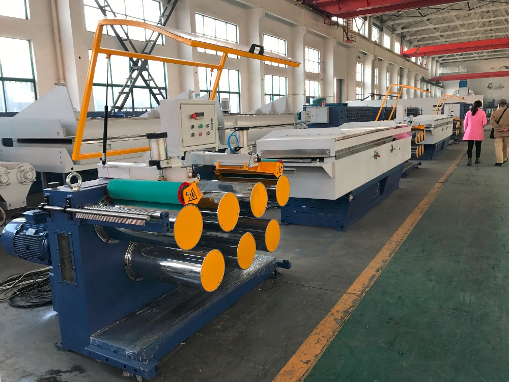 Nylon Monofilament Extruder Line 3mm Ab Extrusion Yarn Machine