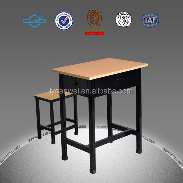 pupil use modern school desk and chair with fashion design