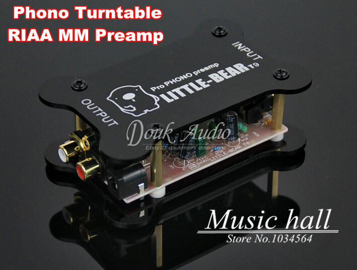 Music Hall Little Bear T9 Phono Amplifier Turntable RIAA MM Preamp Hifi Mini Pre-amplifier Free Shipping