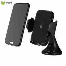 High quality 10w qi fast phone holder wireless car charger