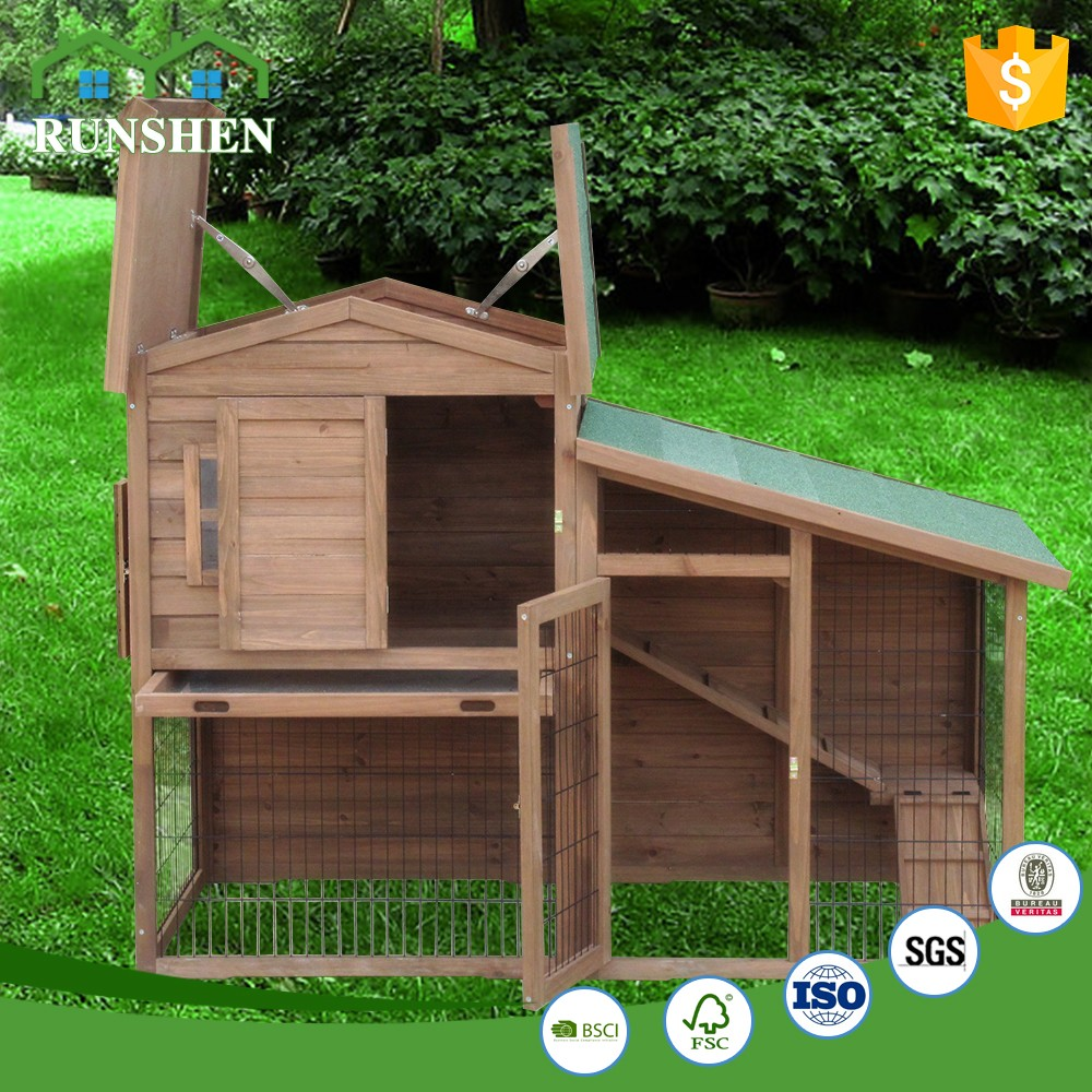 Extra Large Rabbit Hutch Big Outdoor Bunny Hutch Outside