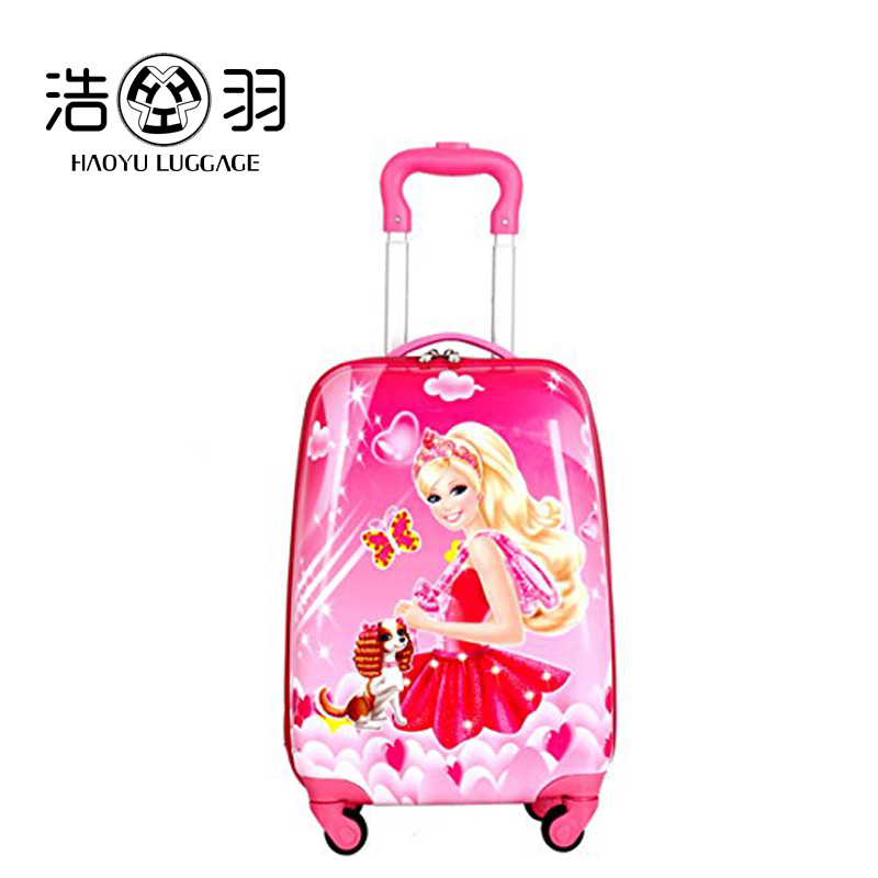 Hard side rolling luggage hot selling kids trolley school bag top quality cut kids luggage kids smart hard shell luggage
