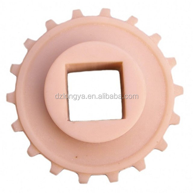 nylon small plastic sprocket gear in conveyor machine