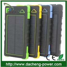 CE ROHS FCC approved 18650 solar battery charger for iphone6 6+