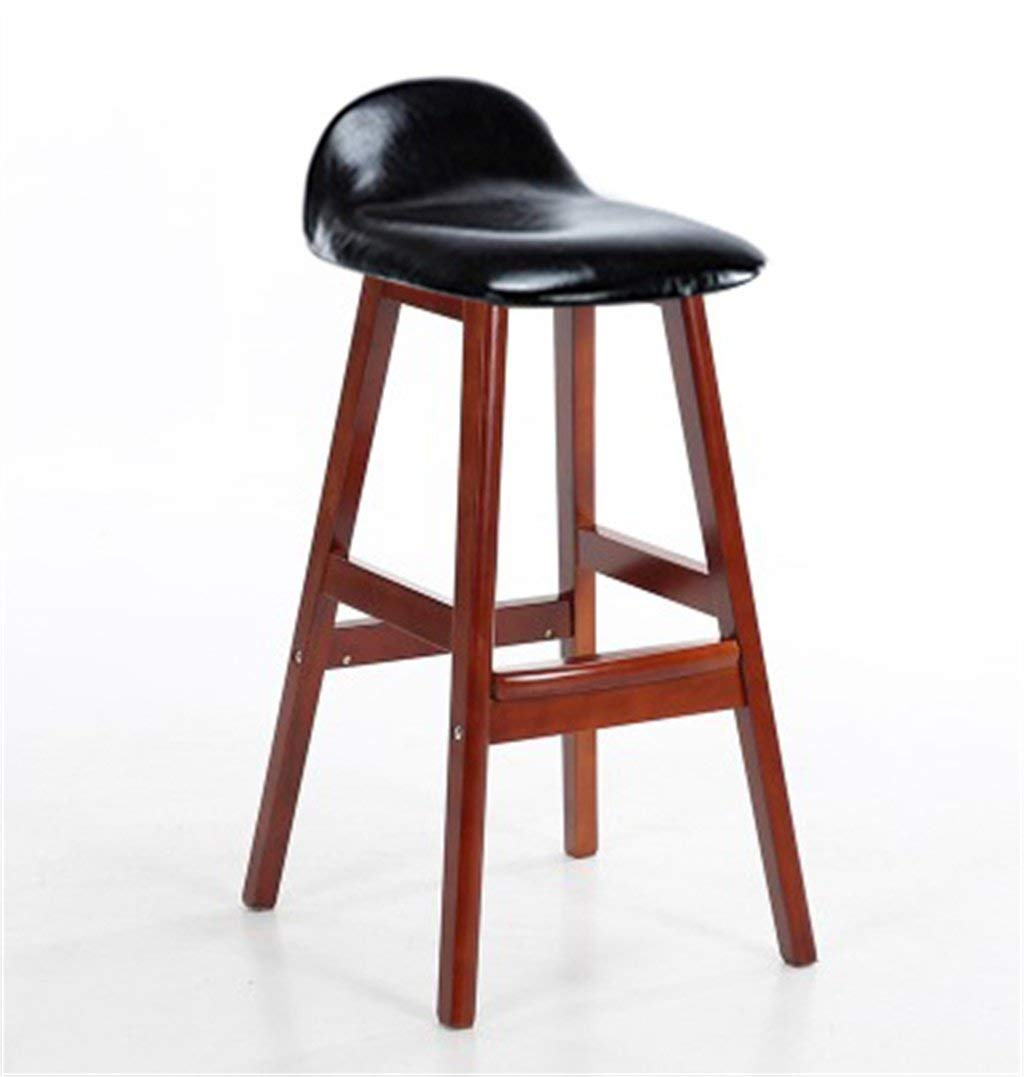 Fashion Creative Bar Stool Lifting Chair Swivel Bar Chair Fashion Linen Solid Wood High Stool. Furniture