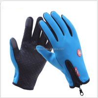Riding Bike Outdoor keep Warm Sports Windstopper Gloves