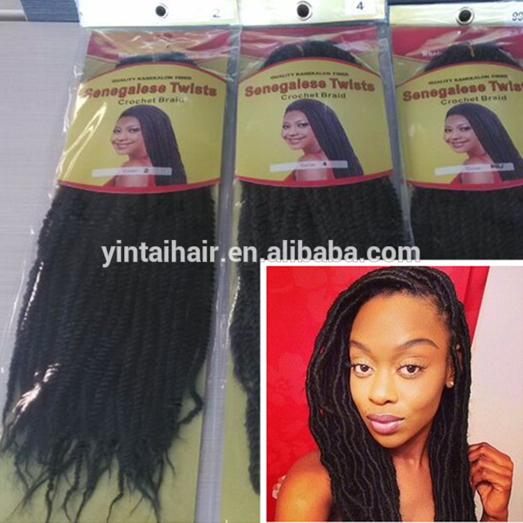 Hot Selling Senegalese Braids Senegalese Twist Hair Afro Kinky ...