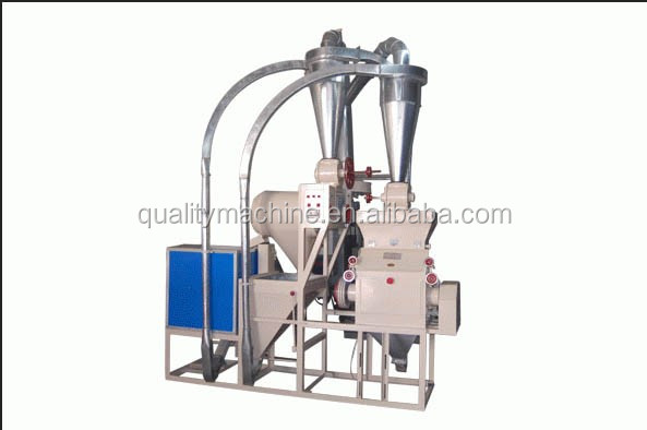 Maize meal milling machine | Corn starch making machine | Home corn grits flour mill processing machine