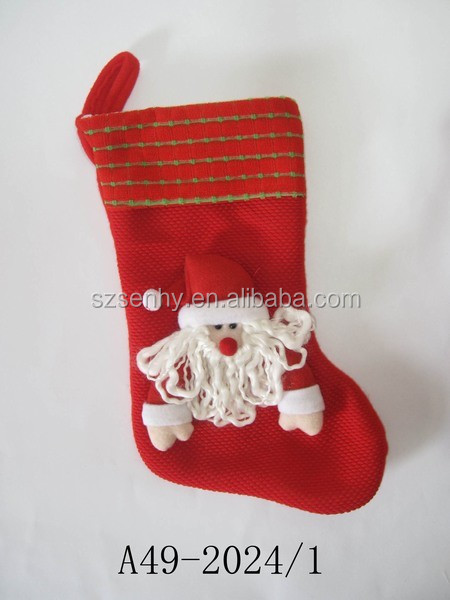 Lovely High Quality Plain Knit Christmas Stocking - Buy ...