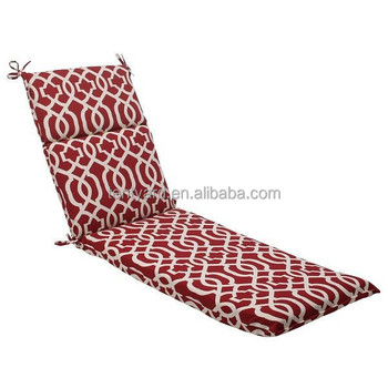 Moroccan Mosaic Red Outdoor Patio Furniture Chaise Lounge